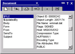File Attachment Properties Dialog