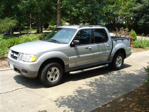 It's actually a used truck (2001 Ford Explorer Sport Trac, 74000 miles),