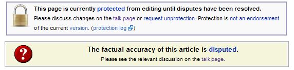 Disputed Wikipedia message on the Sparta entry