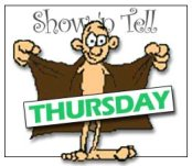 Show and Tell Thursday Logo