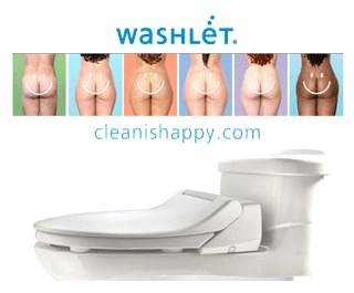 washlets - clean is happy